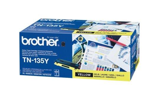 Brother TN135Y - Yellow - original