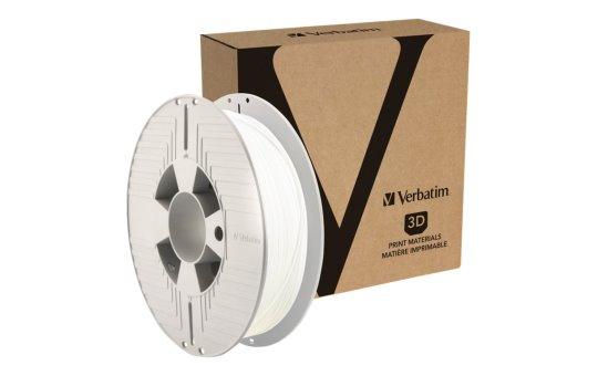 Verbatim Weiß, RAL 9003 - 500 g - DURABIO filament (3D)