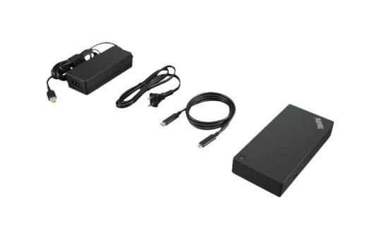 Lenovo ThinkPad USB-C Dock Gen 2 - Docking Station - USB-C - HDMI, 2 x DP - GigE - 90 Watt - Europa - für ThinkPad P1 (3rd Gen)