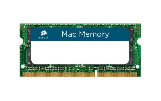 Corsair Mac Memory - DDR3 - 16 GB: 2 x 8 GB - SO DIMM 204-PIN - 1600 MHz / PC3-12800 - CL11 - 1.35 V - ungepuffert - non-ECC - für Apple iMac (27 Zoll)