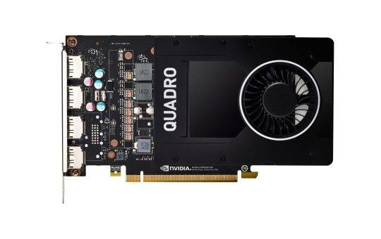 HP NVIDIA Quadro P2200 - Grafikkarten - Quadro P2200 - 5 GB GDDR5X - PCIe 3.0 x16 - 4 x DisplayPort - für Workstation Z2 G4 (MT)
