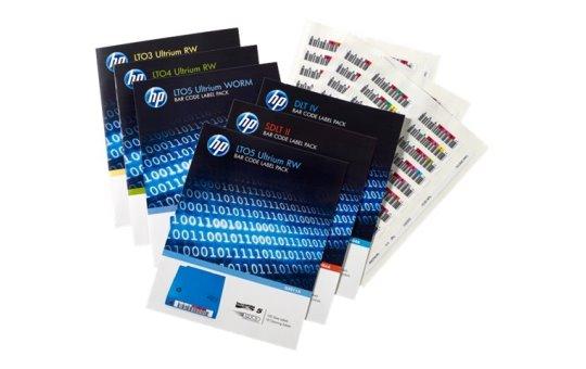 HP Enterprise RW Bar Code Label Pack - Strichcodeetiketten