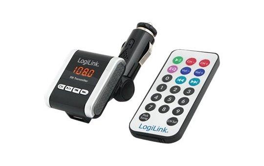 LogiLink FM Transmitter with MP3 Player - FM-Transmitter