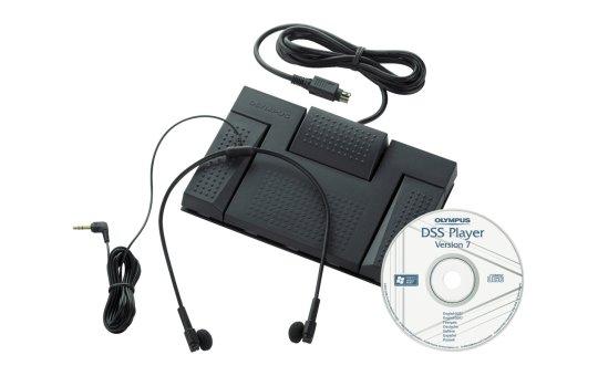 Olympus AS 2400 Transcription Kit - Zubehörkit für digitaler Sprachrekorder