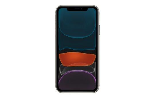 "Apple iPhone 11 - Smartphone - Dual-SIM - 4G Gigabit Class LTE - 64 GB - GSM - 6.1"" - 1792 x 828 Pixel (326 ppi (Pixel pro Zoll))"