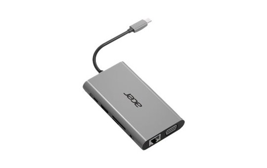 Acer 10-In-1 Type-C Dongle - Port Replicator