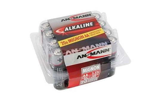 Ansmann Mignon - Battery 20 x AA type