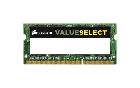 Corsair Value Select - DDR3L - Modul - 8 GB - SO DIMM 204-PIN