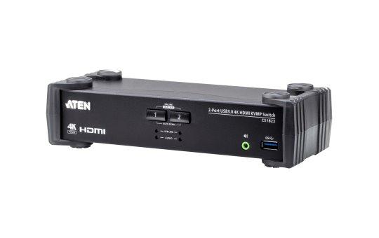ATEN CS1822 KVMP Switch - KVM / audio / USB switch