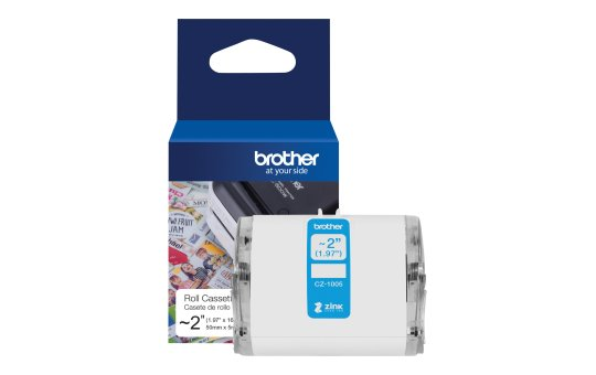 Brother CZ-1005 - Roll (5 cm x 5 m) 1 roll(s) continuous labels