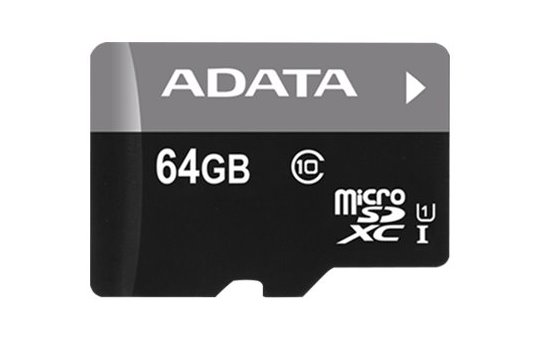 ADATA Premier - Flash memory card (microSDXC to SD adapter included)