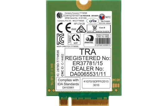 HP lt4120 LTE Modem GPS M.2 Card