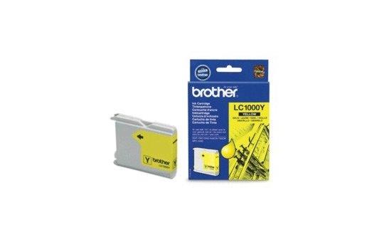 Brother LC1000Y - Gelb - Original - Blister mit akustischem/elektromagnetischem Alarm