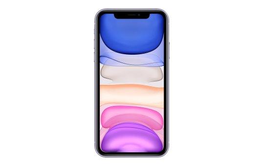 "Apple iPhone 11 - Smartphone - Dual-SIM - 4G Gigabit Class LTE - 128 GB - 6.1"" - 1792 x 828 Pixel (326 ppi (Pixel pro Zoll))"