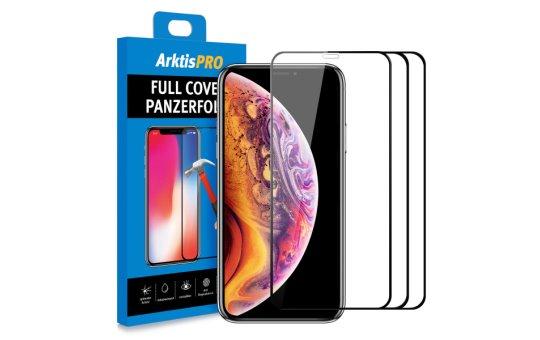 ARKTIS PRO iPhone X XS Full Cover Panzerglasfolie