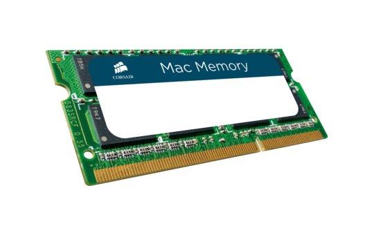 Corsair Mac Memory - DDR3 - 8 GB - SO DIMM 204-PIN - 1333 MHz / PC3-10600 - CL9 - 1.5 V - ungepuffert - non-ECC - für Apple iMac (Mitte 2011)