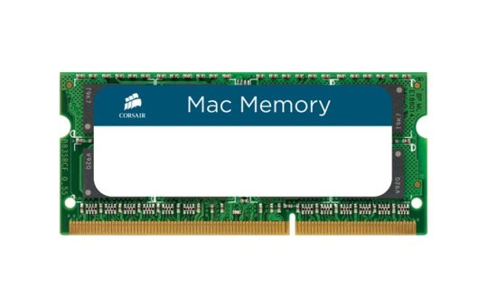 Corsair Mac Memory - DDR3 - 16 GB: 2 x 8 GB - SO DIMM 204-PIN - 1333 MHz / PC3-10600 - CL9 - 1.5 V - ungepuffert - non-ECC - für Apple iMac (Mitte 2011)