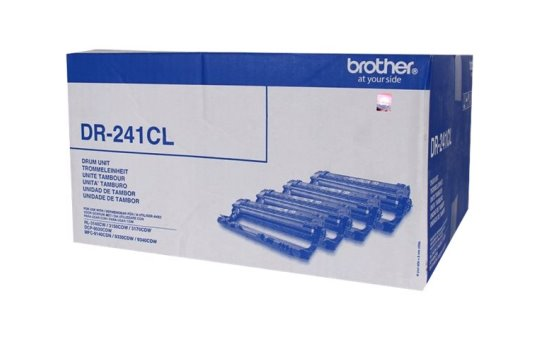 Brother DR241CL - Black, yellow, cyan, magenta