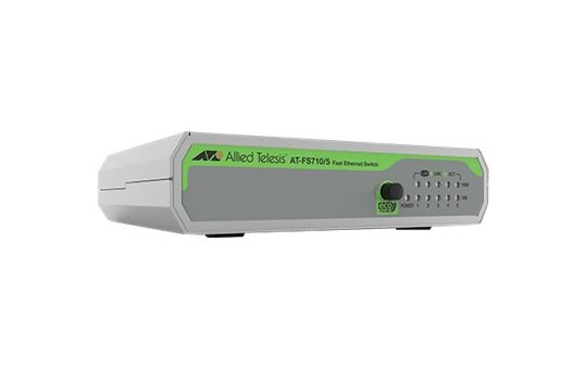 Allied Telesis FS710/5 - Unmanaged - Fast Ethernet (10/100) - Full duplex - Wall mountable
