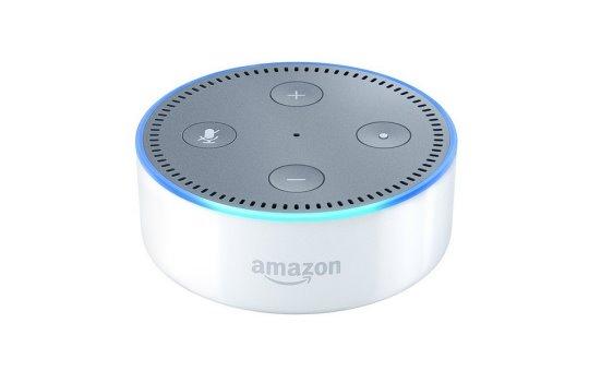 Amazon Echo Dot 2. Generation weiß