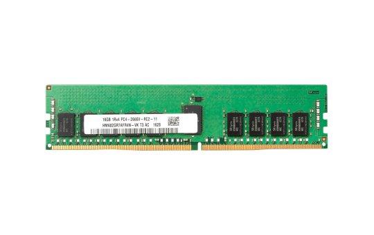 HP  DDR4 - 16 GB - DIMM 288-PIN - 2666 MHz / PC4-21300 - 1.2 V - ungepuffert - non-ECC - für Workstation Z2 G4 (non-ECC)