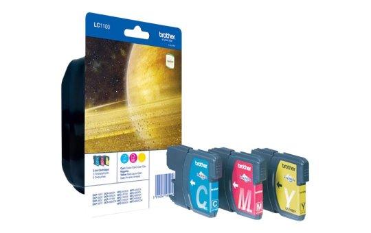 Brother LC1100 Rainbow Pack - Gelb, Cyan, Magenta